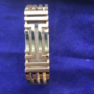 Tory Burch Fitbit flex gold bangle bracelet holder